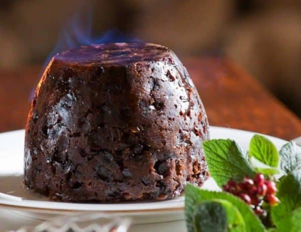Alnwick Rum Christmas Pudding With Nuts