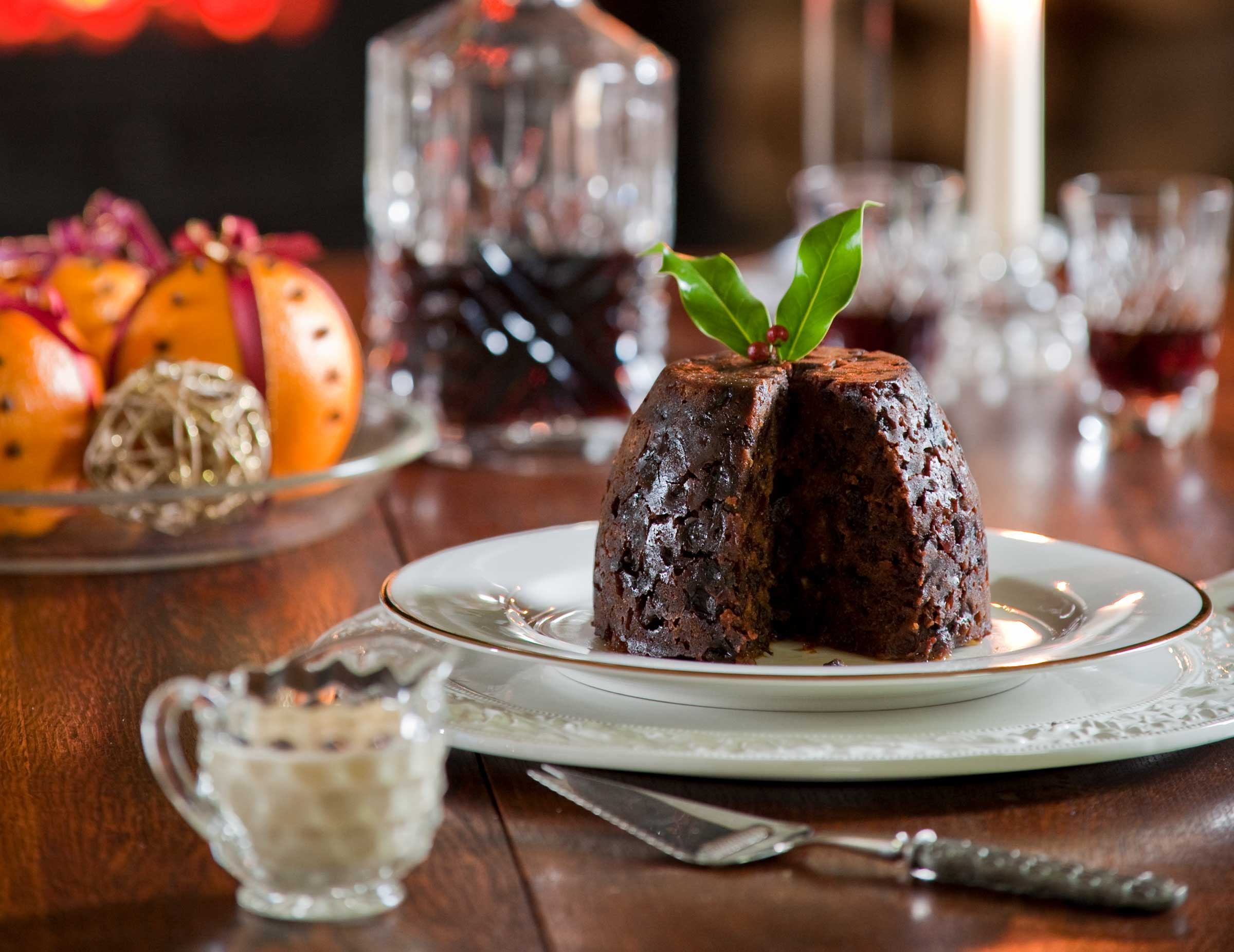 Alnwick Rum Christmas Pudding With Nuts | The Proof Of The Pudding