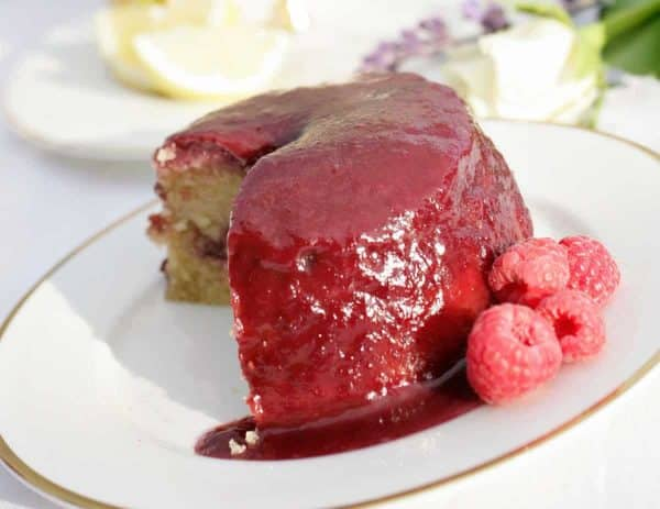 Special Product Raspberry and Almond Pudding Product