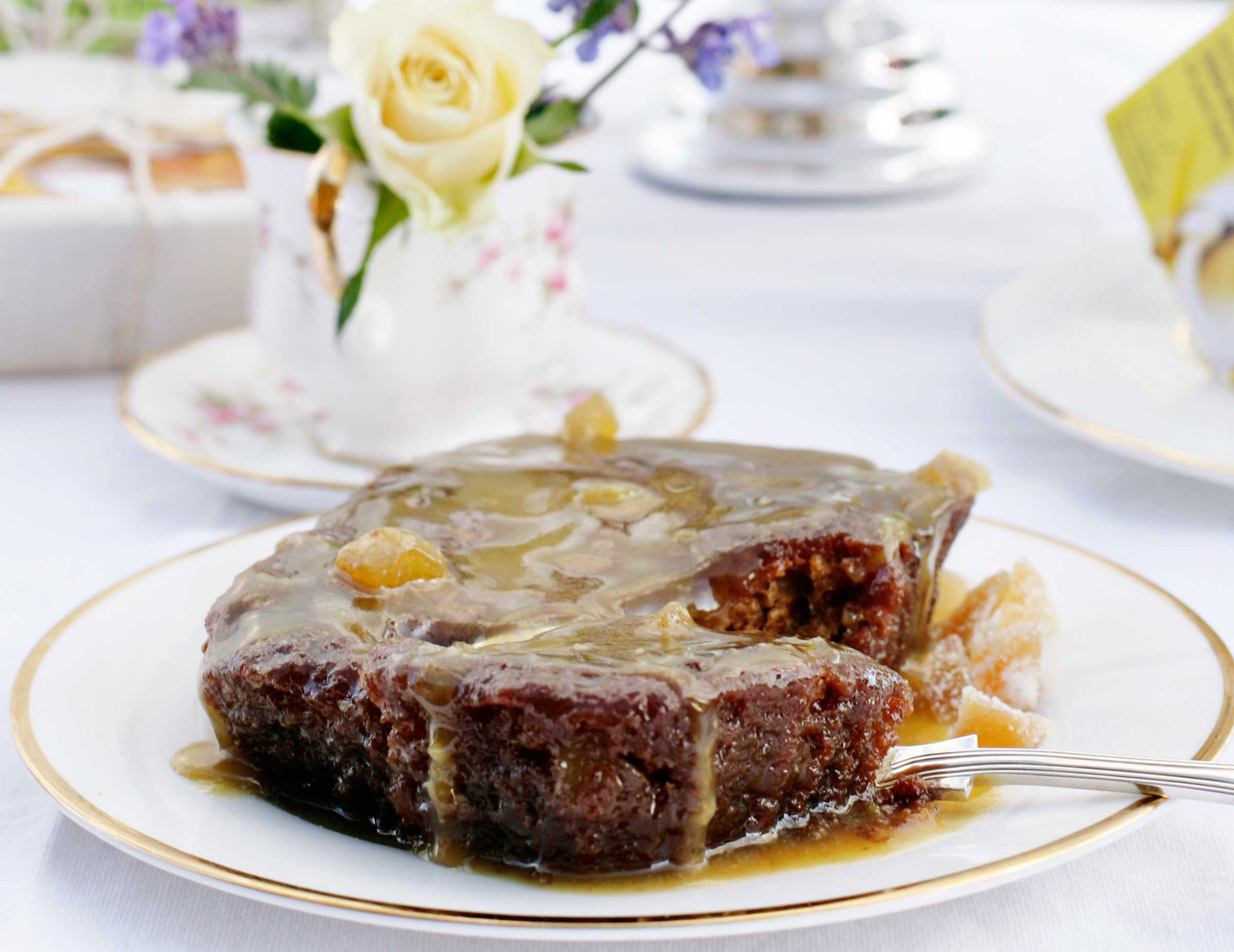 Delicious Sticky Ginger Pudding | The Proof Of The Pudding
