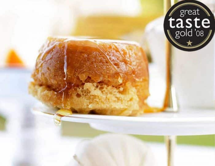 Steamed Golden Syrup Pudding