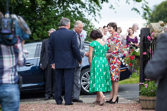 HRH the Prince of Wales visits